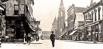 The town of Calumet.