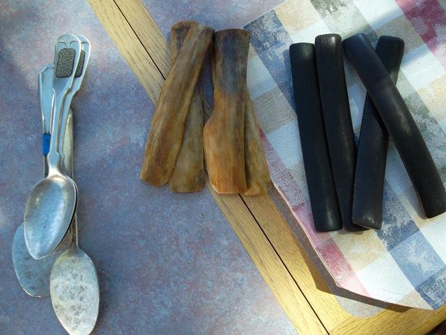 Randy Seppala's bones and spoons
