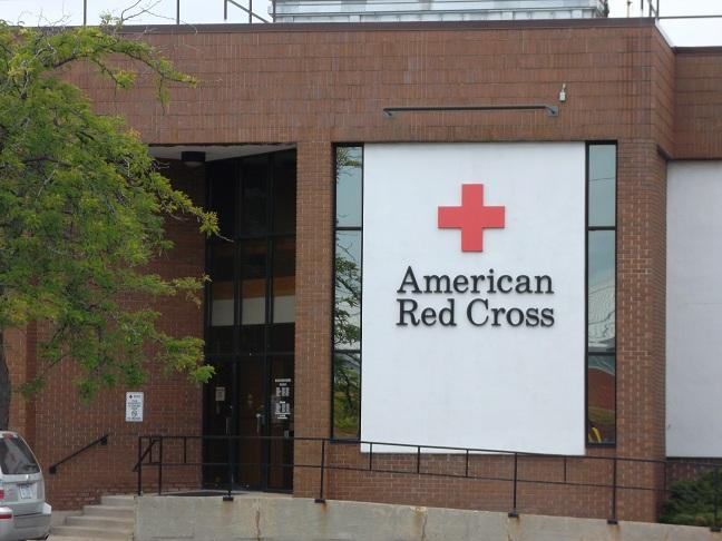The American Red Cross regional blood center in Lansing
