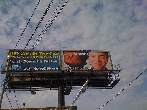 A billboard in Florida