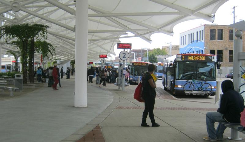 The Rapid bus station