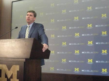 U of M athletic director Dave Brandon