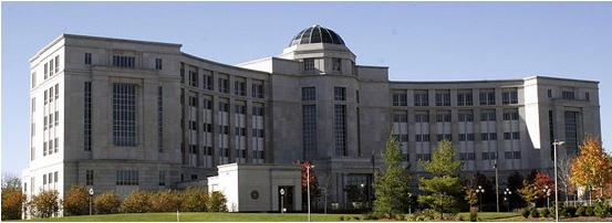 The Michigan Hall of Justice.