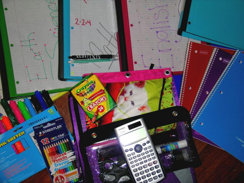 Parents are not obligated to buy school supplies, but most do buy for their own kids and for the classroom to share.