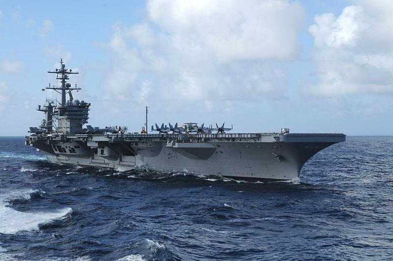 The Nimitz-class aircraft carrier USS Carl Vinson will host the Quicken Loans Carrier Classic on Veteran's Day.