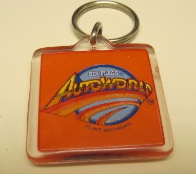 Memorabilia from the now defunct AutoWorld in Flint.