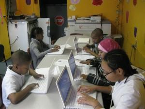 Davison Elementary students