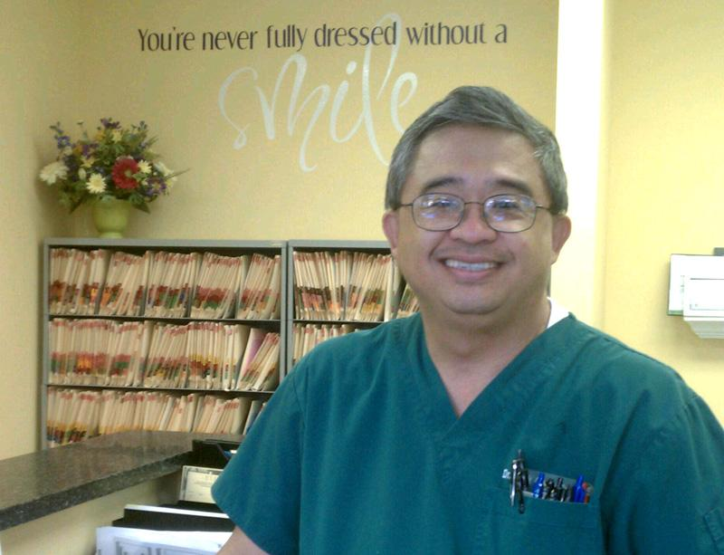 Dr. Mark Gamalinda owns a dental practice in Andersonville, Chicago.