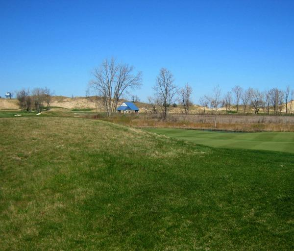 A view of Jean Klock Park where Harbor Shores Community Redevelopment Inc. has built part of a new Jack Nicklaus-designed golf course.