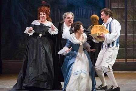 The Marriage of Figaro is part of the Michigan Opera Theatre's 2011-12 season. This photo is from a 2007 production of the opera.