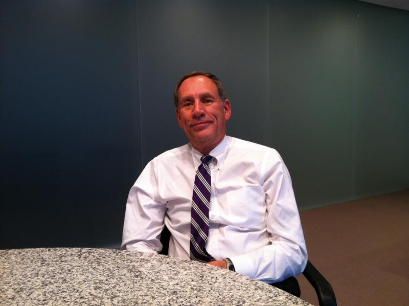 Toby Cosgrove, the Cleveland Clinic's CEO, in his office.