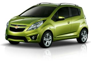 The all-electric Chevy Spark will be available in California in 2013; the gasoline version will arrive in summer 2012.