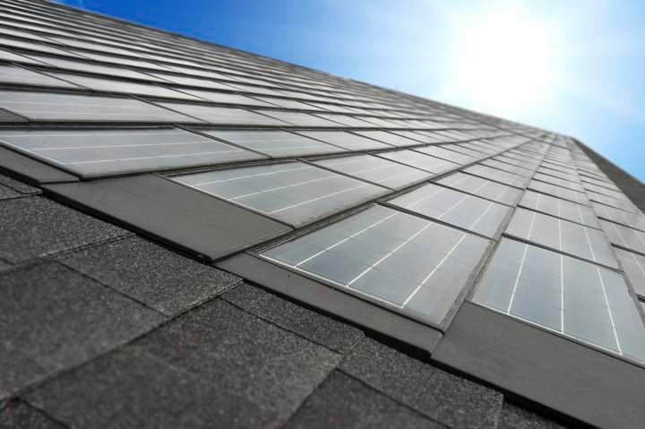 Dow's solar shingles will be released in limited markets starting this month.