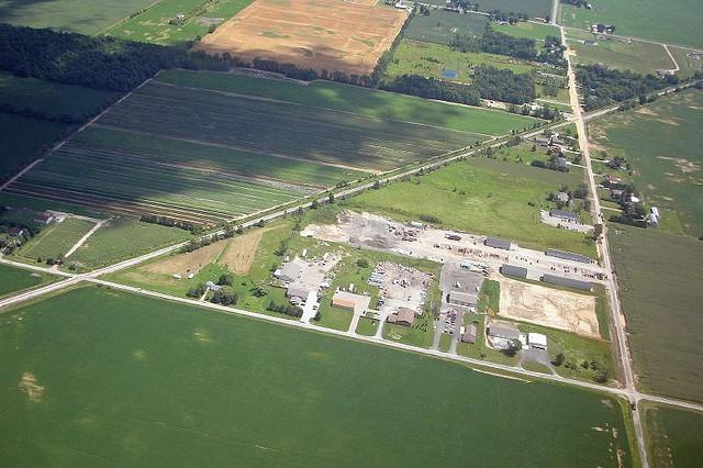 A Michigan farm.