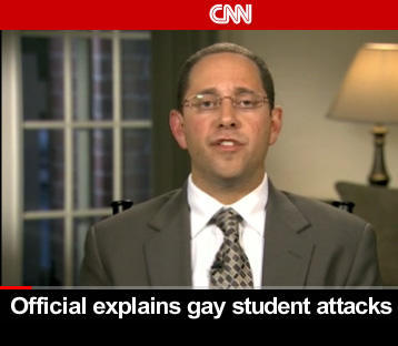 Former Michigan assistant Attorney General, Andrew Shirvell, explaining his actions on CNN last year.