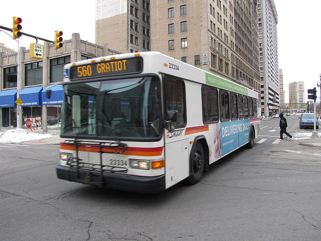 Detroit's Department of Transportation will get $6 million to replace buses.