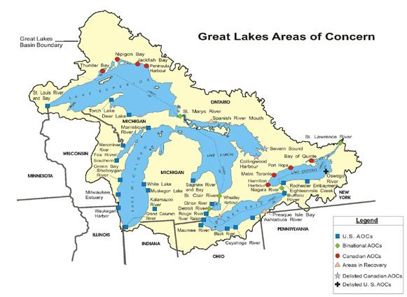 Great Lakes Areas of Concern