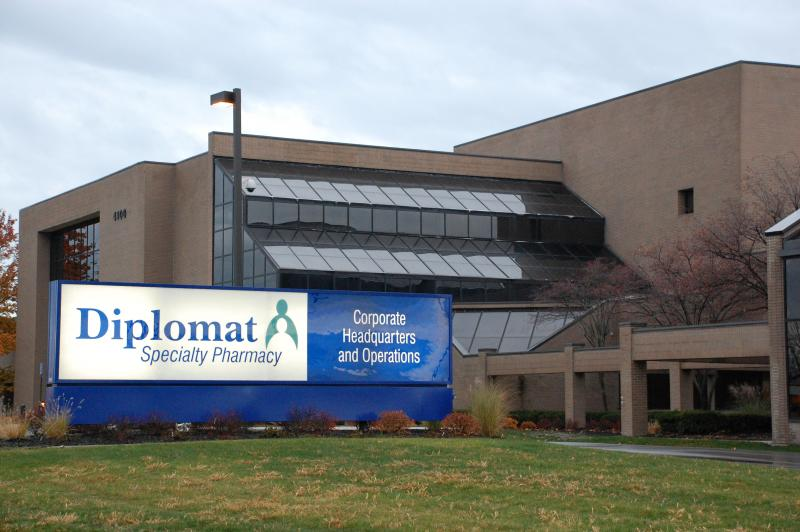 The old GM complex is now home to Diplomat Specialty Pharmacy's headquarters.