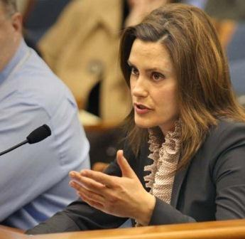 Michigan State Senator Gretchen Whitmer
