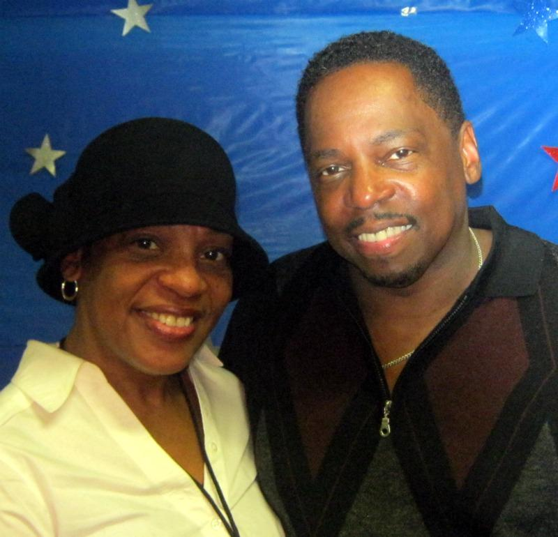 Mayor-elect James Hightower on election night with his wife, June Hightower.