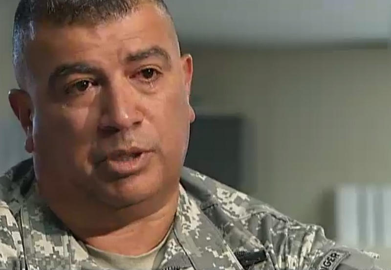 Master Sergeant Orlando Garcia featured in a story by Britain's Channel 4 News on PTSD in the U.S. Army.