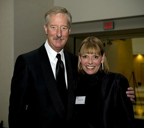 Amway Chairman Steve Van Andel, and his wife Cindy at Davenport University's Excellence in Business Awards in 2010.