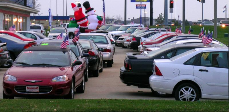 Analysts say car sales are climbing.