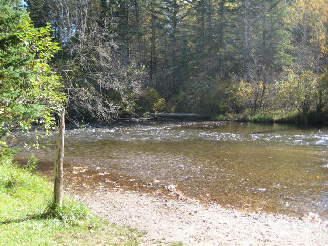 The Pigeon River.