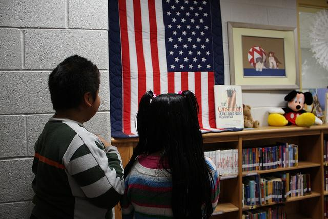 The Michigan Senate has passed a bill that would require all K-12 public school students to recite the Pledge of Allegiance daily.