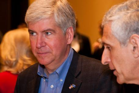 Rick Snyder's proposals clashed with Republicans in the capitol