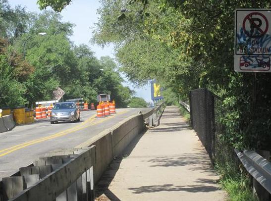 In Ann Arbor, the bridges along East Stadium Boulevard will soon be replaced.