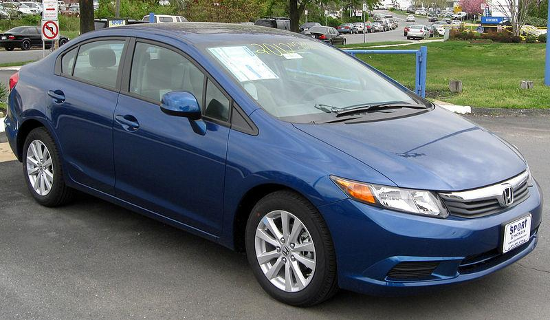 The 2012 Honda Civic will get a new look mid-year.