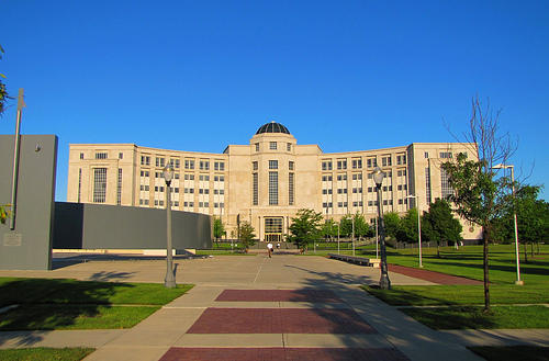 Michigan's Hall of Justice.