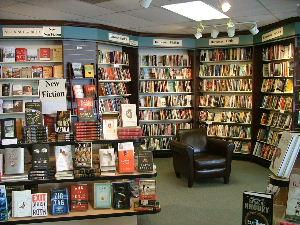 Inside Nicola's Books in Ann Arbor