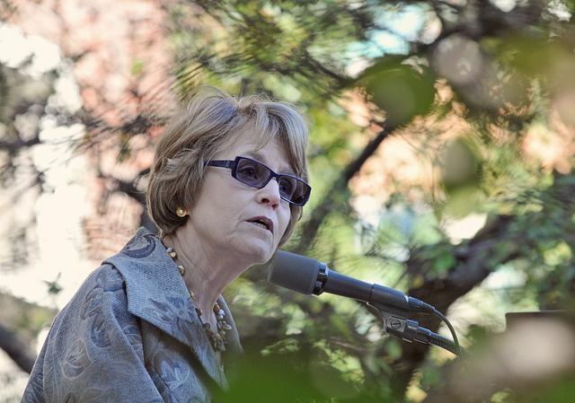 UM President Mary Sue Coleman.