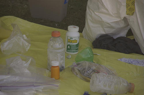 "More meth ""cooks"" are mixing batches of the highly addictive drug in containers like 2-liter soda bottles."