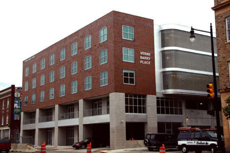 Verne Barry Place provides apartments for homeless people with special needs in Grand Rapids