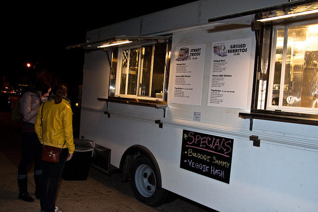 """The traditional classroom style was not the best way to teach this type of information ... Once the guys were able to see hands on what it meant to run a business using the food truck as a classroom, it completely changed what they thought,"" Harris said."