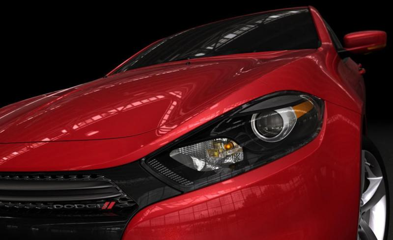PR photo of the 2013 Dodge Dart