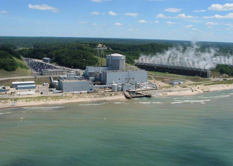 The Palisades nuclear power plant is on the shore of Lake Michigan six miles south of South Haven.