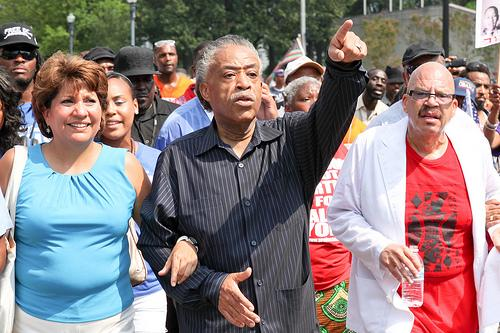 The Reverend Al Sharpton in Washington D.C.