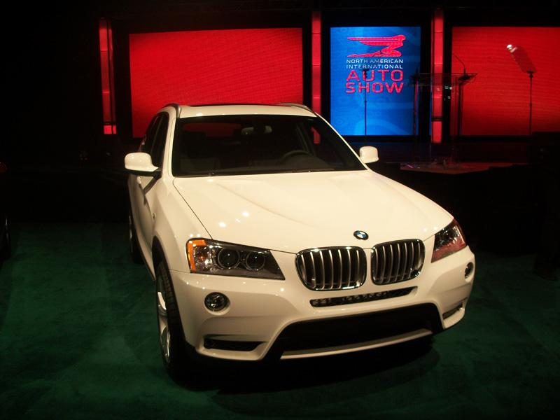 "Another finalist for the 2012 North American ""Truck of the Year"" award was the BMW X3."