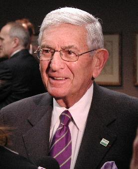 Eli Broad, businessman, art collector and Michigan State Universitry benefactor