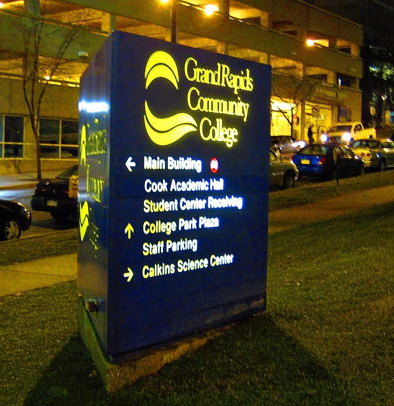 Grand Rapids Community College campus downtown.