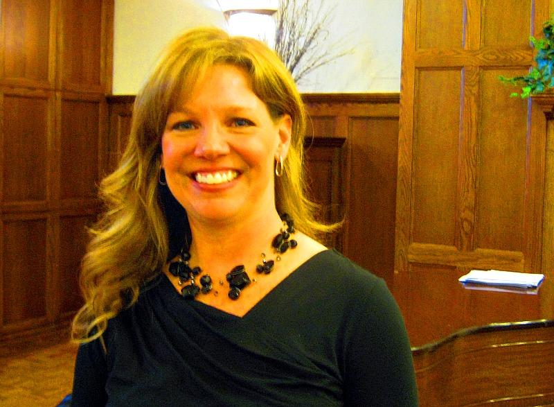 Cathy Holbrook has been St. Cecilia Music Center's Executive Director for 6 years.