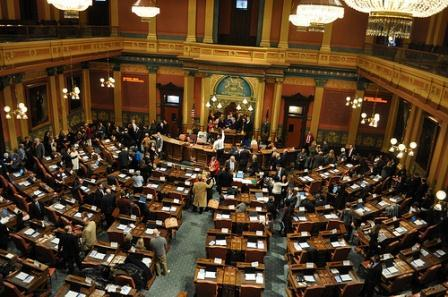 The Michigan legislature began a new session this week.