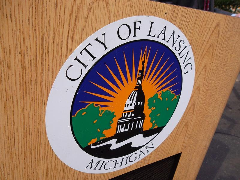 The seal of the city of Lansing, Michigan