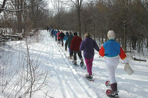 Waara encourages women to get outside this winter