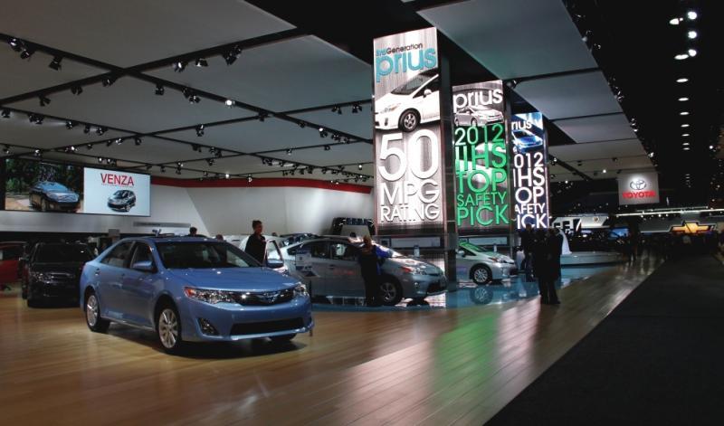 2012 North American International Auto Show in Detroit.