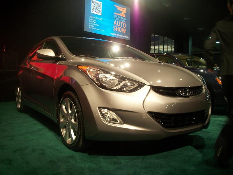 The 2012 Hyundai Elantra won the North American Car of the Year award. It's the second time the Korean automaker has won the award.